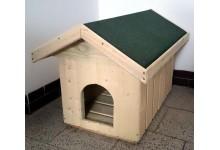 Zateplená dřevěná bouda pro psa M