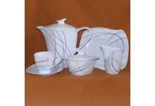 Kávová porcelánova souprava pro 12 osob Eureka 12b