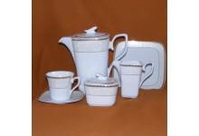 Kávová porcelánova souprava pro 12 osob Timon 37b