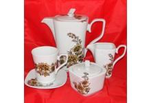 Porcelánová čajová sada - Timon 6 osob
