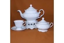 Čajová porcelánova sada Fryderyka pro 6 osob