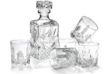 Karafa na whisky + sklenice
