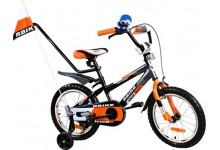 """Dětské kolo BMX Rbike 16"""" orange"""