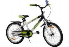 """Dětské kolo BMX Rbike 20"""" green"""