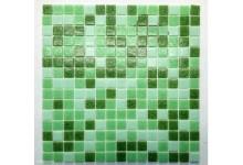 Mozaika skleněná Zelená mix