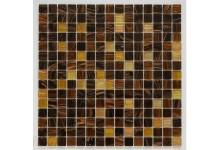 Mozaika Skleněná  hnědá - zlatá