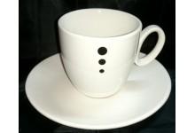 Keramická kávová sada pro 6 lidi